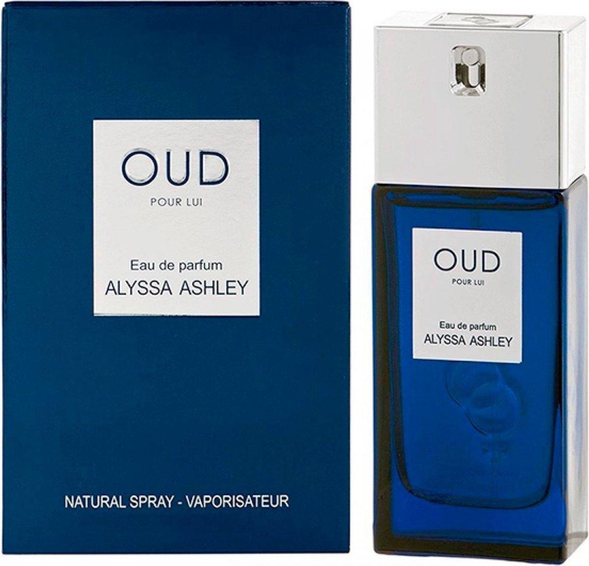 Alyssa Ashley Oud voor mannen - Eau de parfum spray - Herenparfum - 100 ml