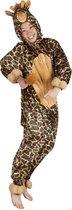 Onesie kinderkostuum giraf, maat 140