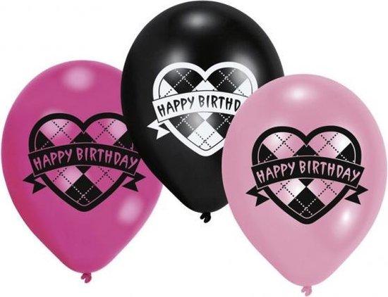 AMSCAN - Set van Monster High ballonnen - Decoratie > Ballonnen