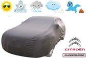 Autohoes Grijs Polyester Stretch Citroen C4 2004-2010