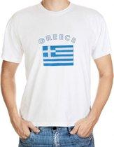 Greece t-shirt met vlag L
