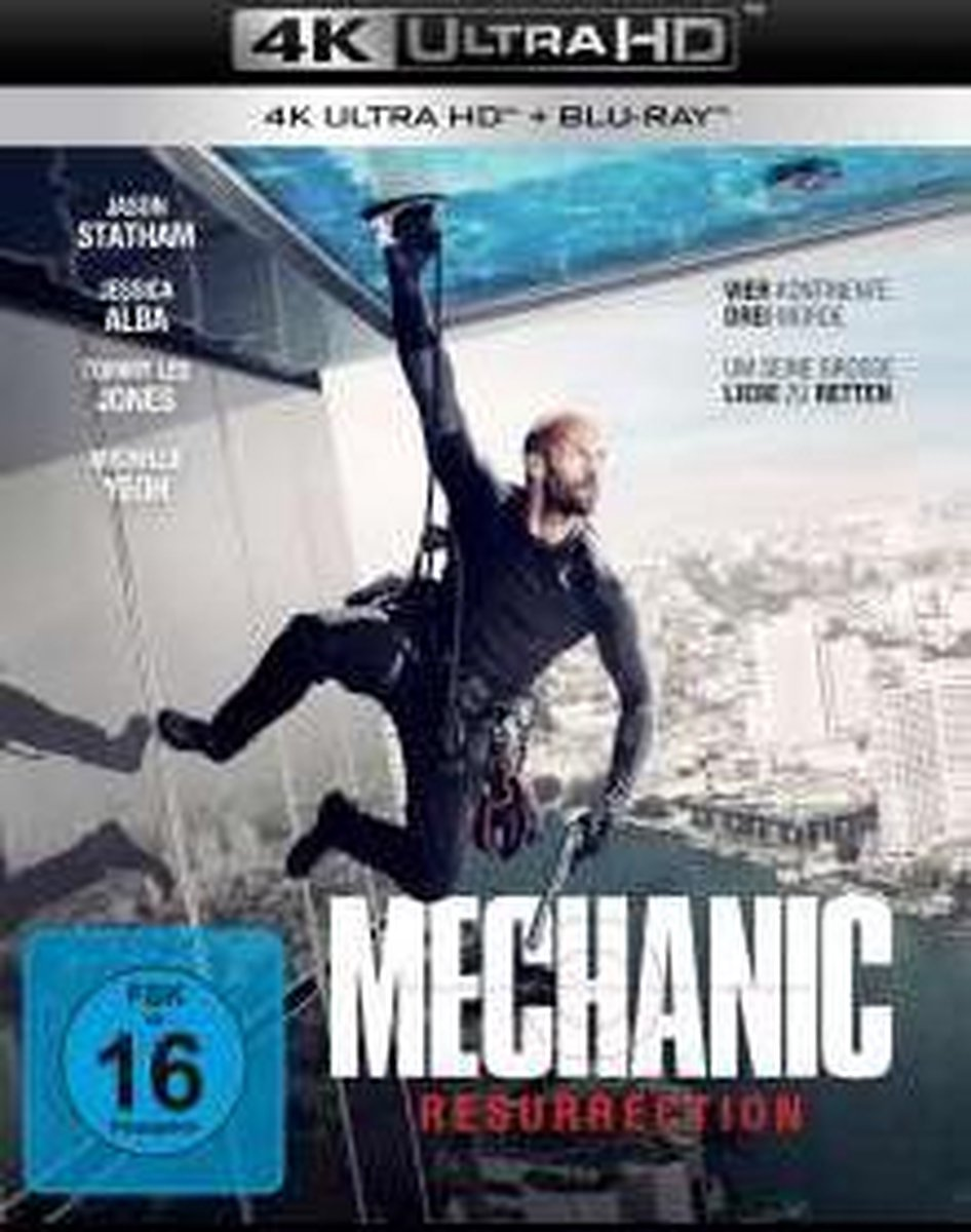 Mechanic: Resurrection UHD Blu-ray-