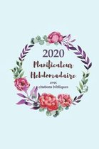 2020 Planificateur Hebdomadaire Avec Des Citations Bibliques - Une Semaine Par Page
