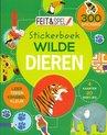 Afbeelding van het spelletje Kinderboeken Kinderboek Feit & Spel stickerboek: Wilde dieren. 7+