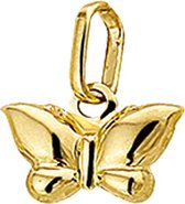 The Jewelry Collection Bedel Vlinder - Goud