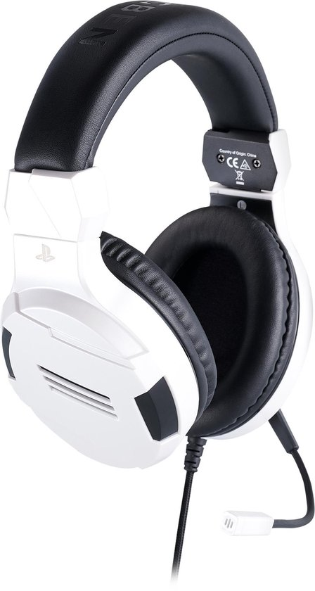 Official Licensed Playstation Stereo Gaming Headset V3 - PS4 & PS5 - Wit