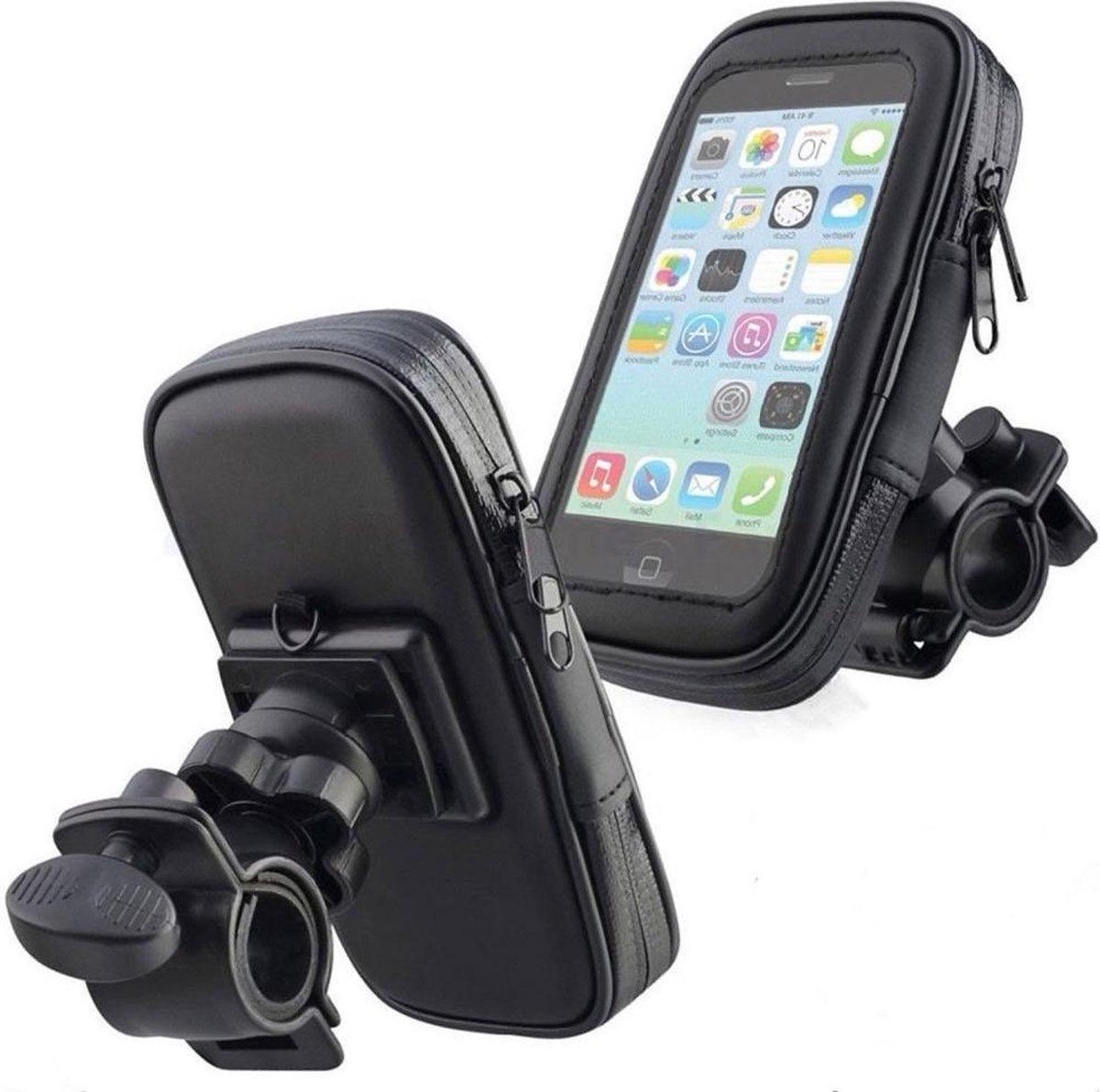 Untoom telefoonhouder fiets - Universeel - Waterdicht - Opbergruimte - tot 6.3 Inch