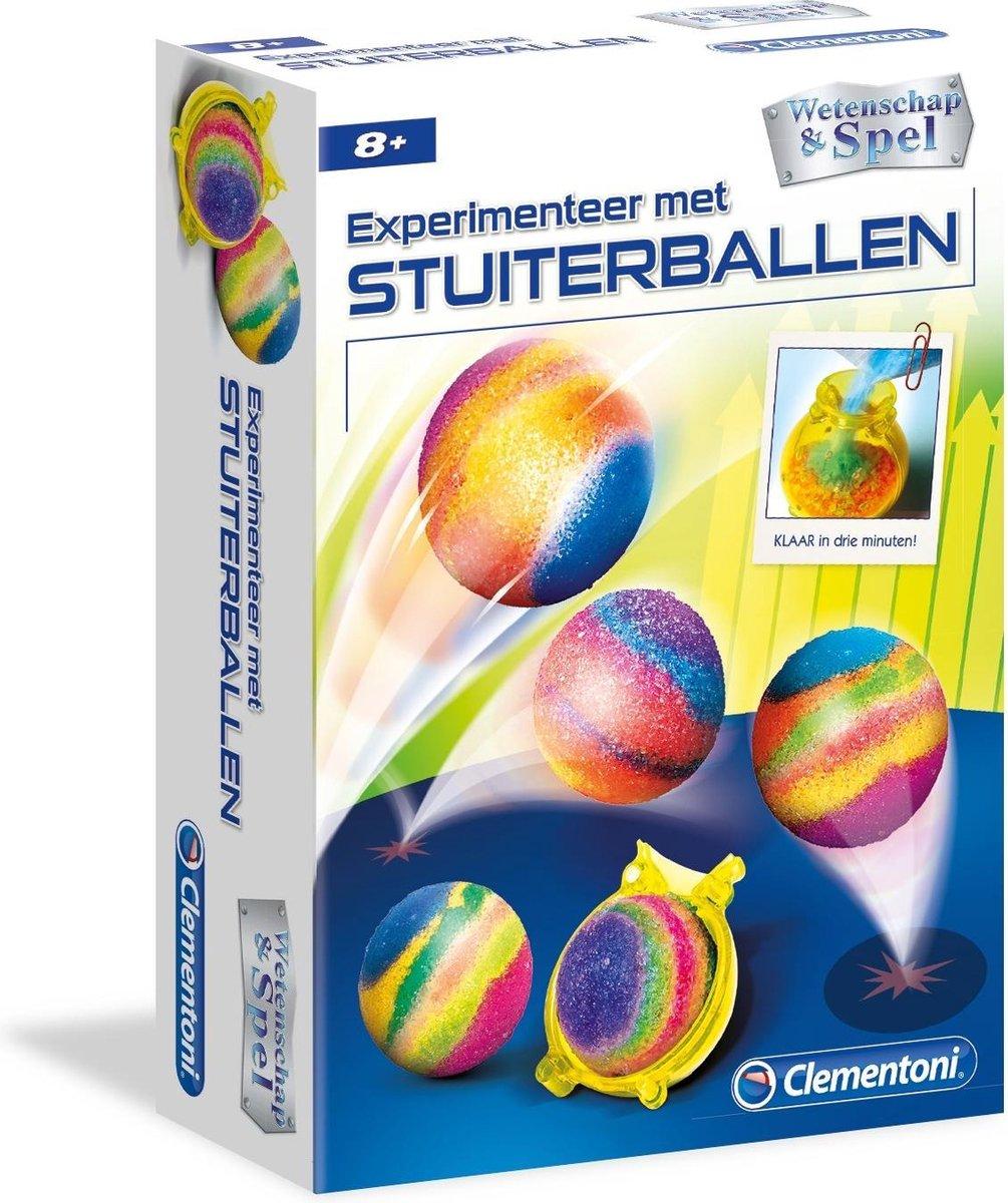 Clementoni Wetenschapset Stuiterballen Multicolor