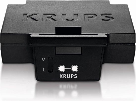 Krups FDK452 - Tosti ijzer - Zwart