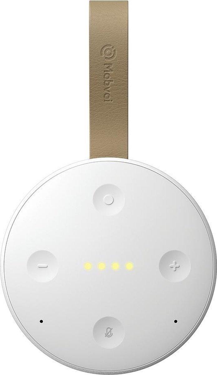Mobvoi TicHome Mini - Waterbestendige Draagbare Smart Speaker - Wit