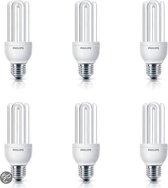 Philips Spaarlamp Genie - 18W - E27 Fitting - 6 stuks