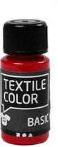 Textile Color, primair rood, 50ml