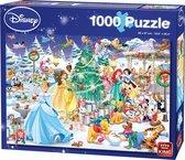 Disney 1000 Stukjes Puzzel Winter Wonderland - Legpuzzel - 68 x 49 cm