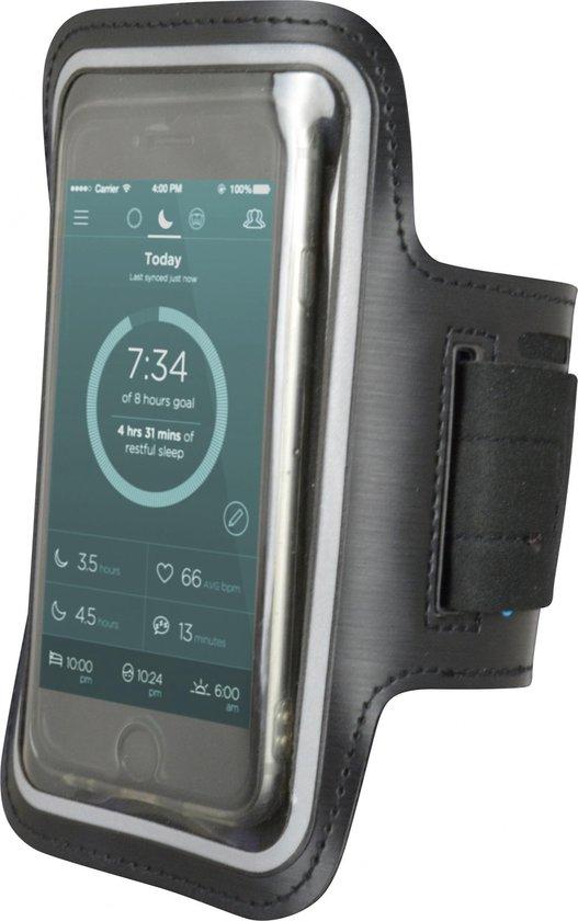 Carpoint Sportarmband Voor Smartphones Tot 4,7 Inch Zwart