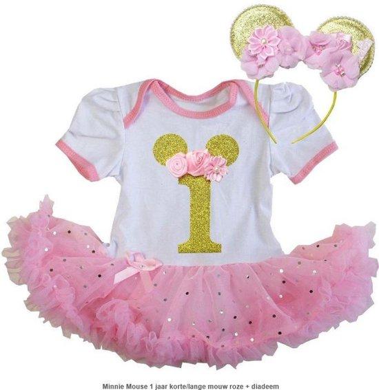 Ongebruikt bol.com | Minnie Mouse, verjaardagjurk, 1 jaar, eerste verjaardag AC-34