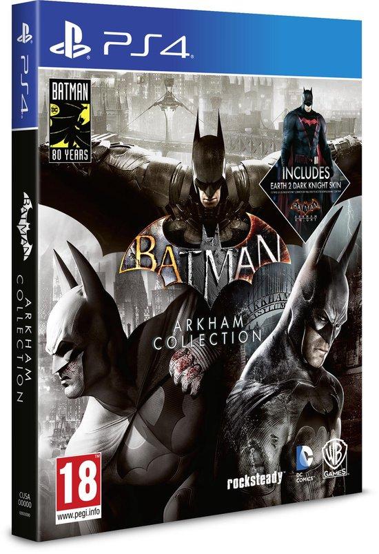Batman: Arkham Collection - PS4 (Steelbook)