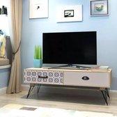 vidaXL TV dressoir 100x40x35 cm bruin