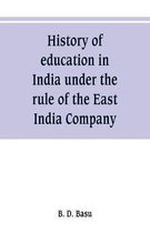 History of education in India under the rule of the East India Company