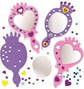 Sets met prinsessenspiegels  (4 stuks per verpakking)