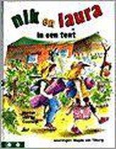 Boek cover Nik En Laura In Een Tent van Marion van de Coolwijk (Hardcover)