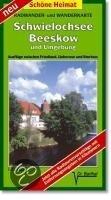 Schwielochsee, Beeskow und Umgebung 1 : 35 000. Radwander-und Wanderkarte