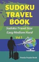 Sudoku Travel book - Easy Medium Hard
