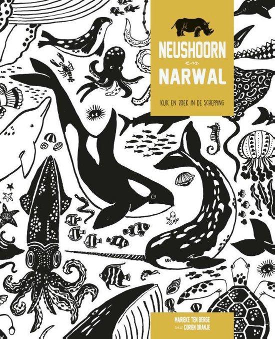 Neushoorn en Narwal - Corien Oranje  