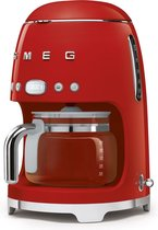Smeg - DCF02RDEU Filter-koffiezetapparaat - rood