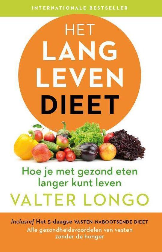 Boek cover Het langlevendieet van Valter Longo (Paperback)