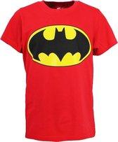DC Comics Batman Logo Kinder T-Shirt Rood