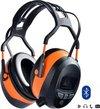 Gehoorbeschermer/oorbeschermer/oorkappen met MP3 speler en Bluetooth digitale FM radio