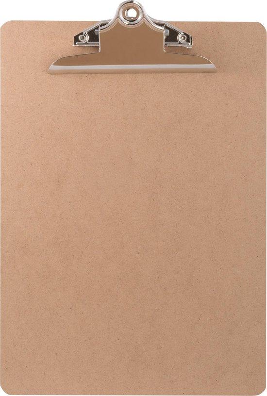 LPC Klembord - clipboard - hout/mdf/hardboard- A4 -145 mm butterfly klem