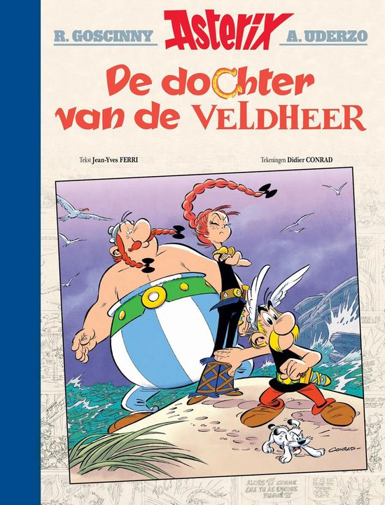 Asterix Luxe Editie Lu38. De dochter van de veldheer (Luxe editie) - Didier Conrad |