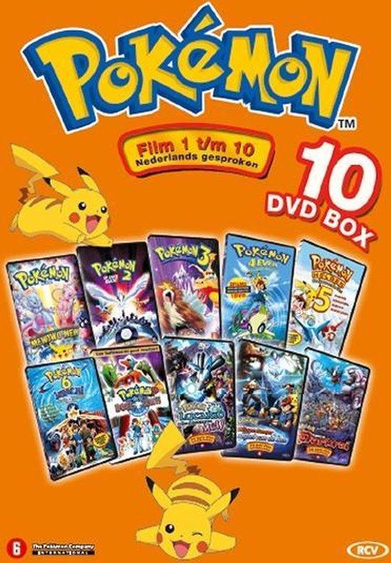 Pokémon 1 t/m 10 Filmbox