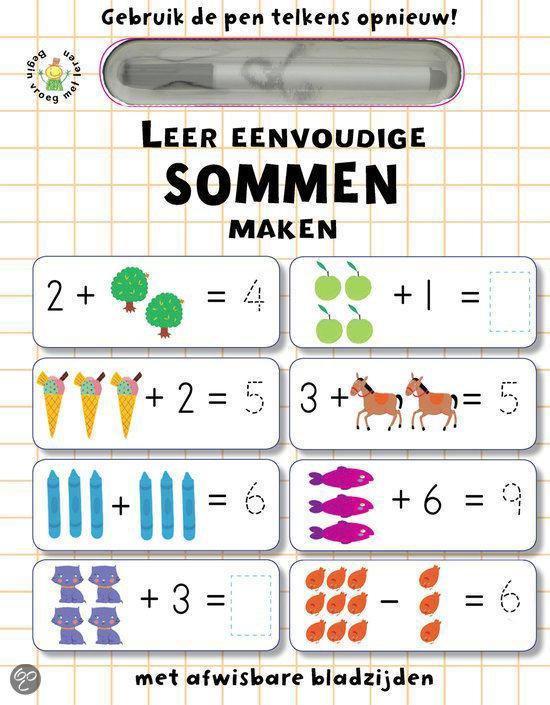 Leer eenvoudige sommen maken - Niet bekend | Fthsonline.com