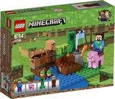 LEGO Minecraft De Meloenboerderij - 21138