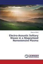 Electro-Acoustic Solitary Waves in a Magnetized Nonextensive Plasma