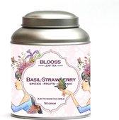 Basil - Strawberry - organic | kruidenthee | losse thee | 60g