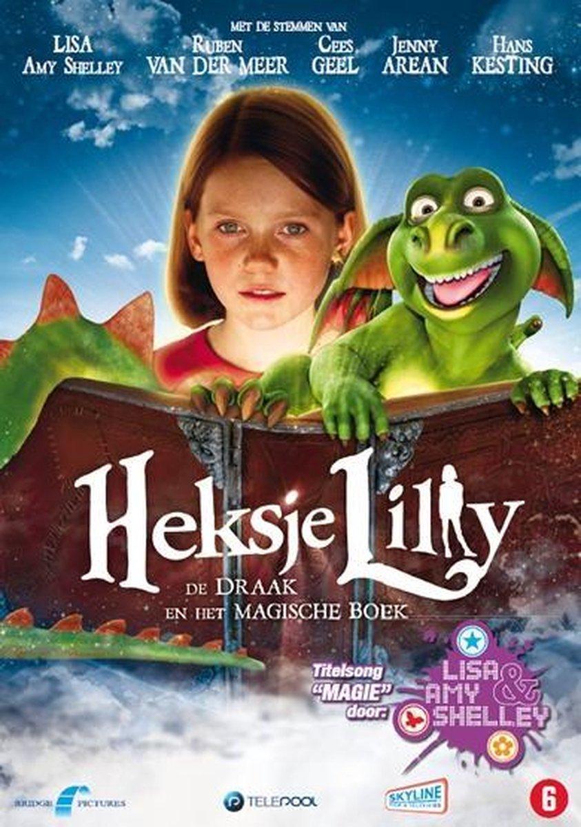 Heksje Lilly - De Draak En Het Magische Boek - Amaray
