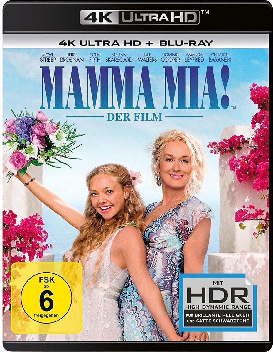 Mamma Mia! (Ultra HD Blu-ray & Blu-ray)-