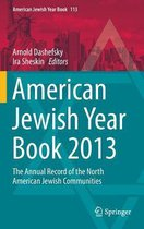 American Jewish Year Book 2013