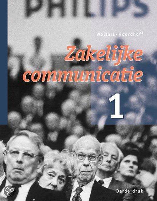 1 Zakelijke communicatie - none  