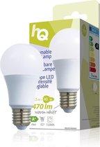 Hq Hqle27a60003 Dimbare Led-lamp A60 E27 6,5 W 470 Lm 2 700 K
