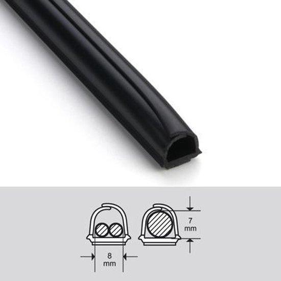 Cablefix 2201 Zwart zelfklevend (4x1M)