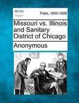 Missouri vs. Illinois and Sanitary District of Chicago