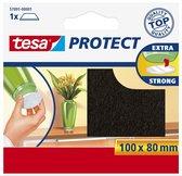 Tesa Protect Beschermvilt Rechthoekig - Bruin - 80 x 100 mm