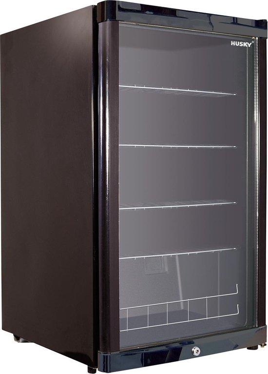 Koelkast: Husky KK110-BK-NL-HU - Horeca koelkast, van het merk Husky