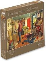 Puzzel - Marius van Dokkum - Mannenhuishouding - 1000st.