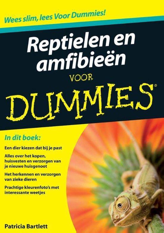 Reptielen En Amfibieen Voor Dummies - Patricia Bartlett | Fthsonline.com