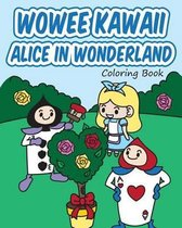 Wowee Kawaii Alice in Wonderland Coloring Book